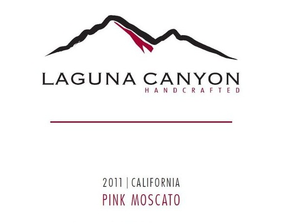 2011 Laguna Canyon California Pink Moscato 750 mL