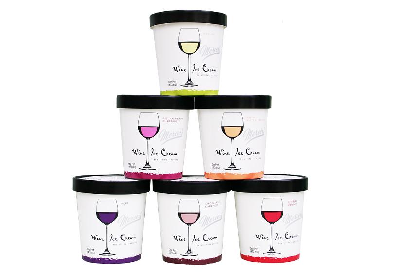 Mercer's Wine Ice Cream